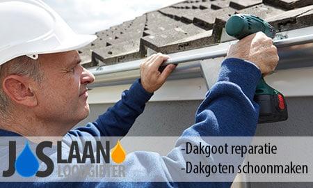 dakgoot reparatie