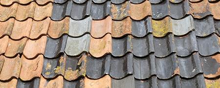daklekkage hellend dak Veenendaal