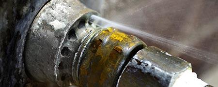 lek in waterleiding