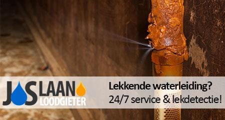 lekkage waterleiding