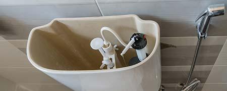 toiletpot lekkage Zandvoort